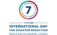 International Day for Disaster Reduction – 13 October 2018